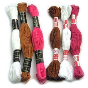 Правильно купить нитки для вышивки – залог успеха