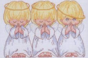 Схемы вышивки крестом