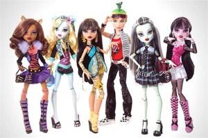 Куклы Монстры и Винкс