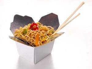 История китайской еды в коробочках