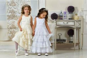 Новогоднее детское платье для девочки