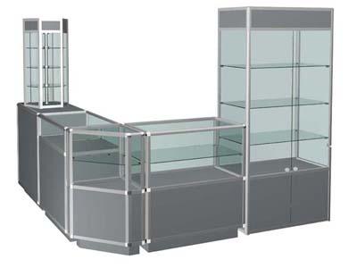 Алюминиевое оборудование для магазинов