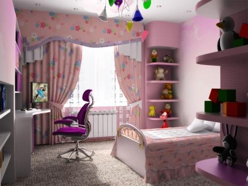 Как оформить комнату для ребёнка