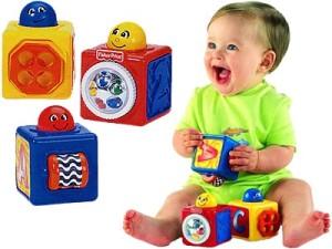 Выбираем безопасные игрушки для ребенка до 3-х лет