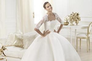 Где купить свадебные платья из атласа?