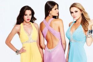 стильные брендовые платье