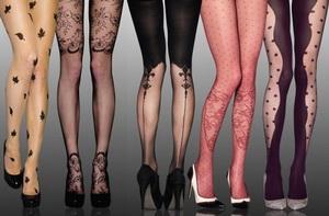 Выбираем стильные женские колготки