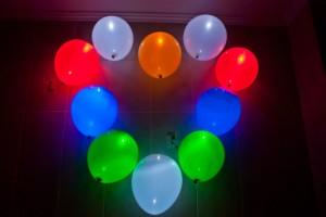 Выбираем светящиеся шары с гелием