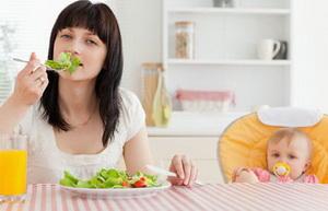 Можно ли худеть кормящей маме?