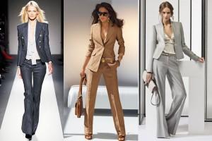 Классические брюки - с чем носить?