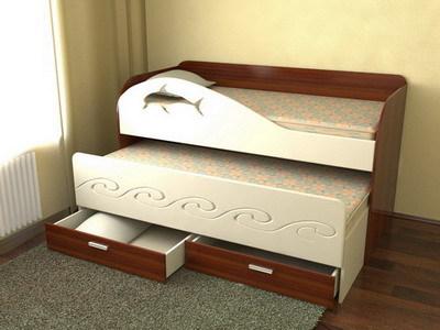 Детские кровати с мебельных плит