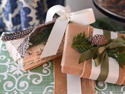 Подарочные упаковки ручной работы