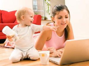 работе для мамы в декрете