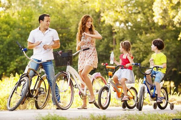 Активный отдых с семьей